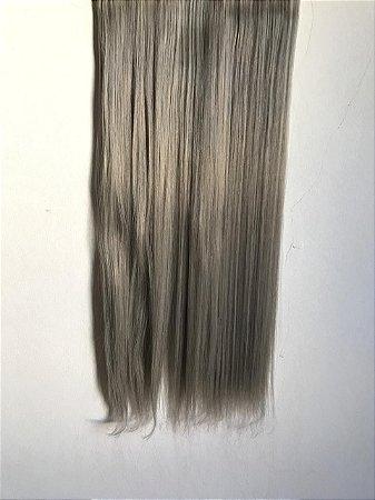 Aplique tic tac liso granny hair cinza -  DEFEITO 1 TIC TAC QUEBRADO