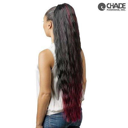 EDIÇÃO LIMITADA - Aplique de cabelo - IMPÉRIO2  - Liso  80cm -  ONDULADO - Preto natural