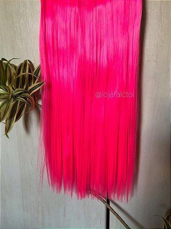 Aplique tic tac rosa pink liso 60cm