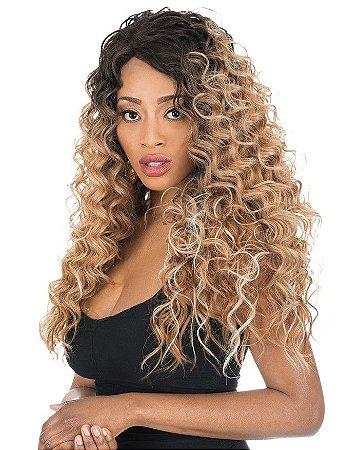 LANÇAMENTO - Peruca lace front wig cacheada MAY
