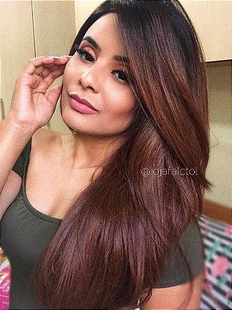 Peruca lace front wig repicada 70cm - Kariny