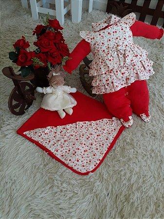 Saída de Maternidade 4 Peças - Alice