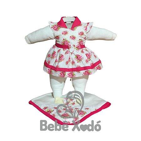 Saída Maternidade - Floral Pink