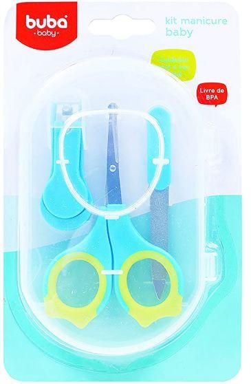 Kit Manicure Para Bebes Azul - Buba