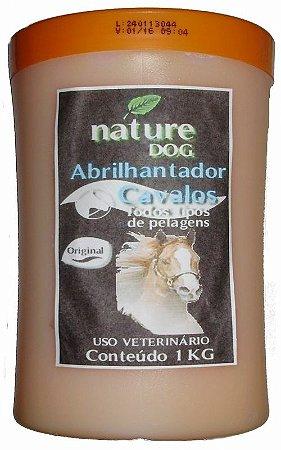 ABRILHANTADOR PARA CAVALOS NATURE DOG -1KG