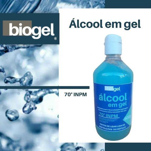 Álcool Em Gel 70% 500g