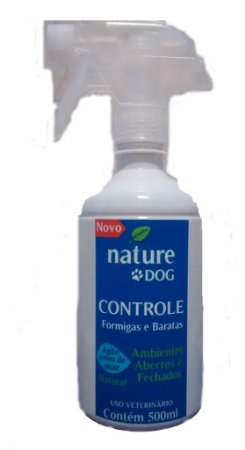 SPRAY MATA BARATAS, FORMIGAS E INSETOS NATURE DOG - 500 ML