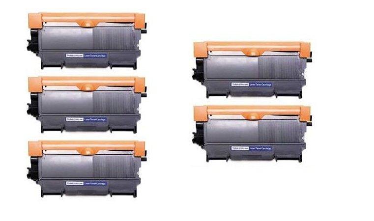 5X Toner TN 450 HL2240, HL2270, HL2130, HL2230, HL2220, HL 7060, DCP 7055, DCP7360