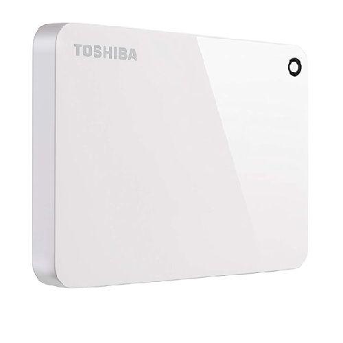 HD Externo TOSHIBA 2TB Canvio Advanced Branco