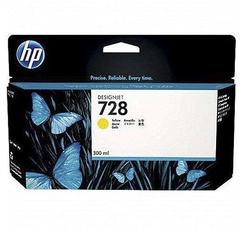 HP 728 Amarelo PLUK 300 ml