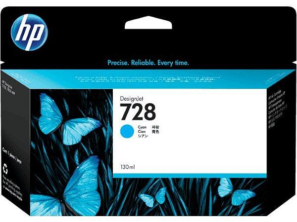 HP 728 Ciano PLUK 130 ml