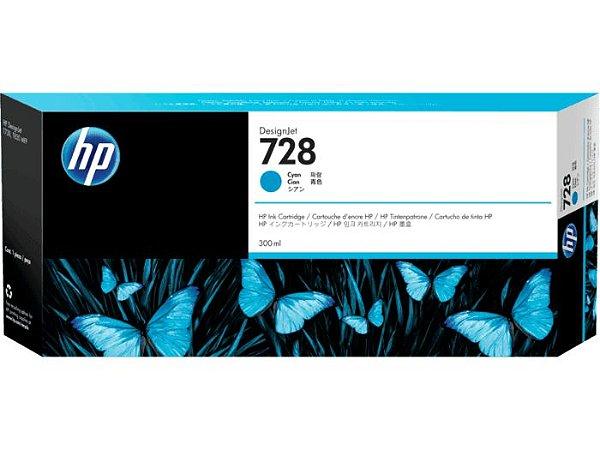 HP 728 Ciano PLUK 300 ml