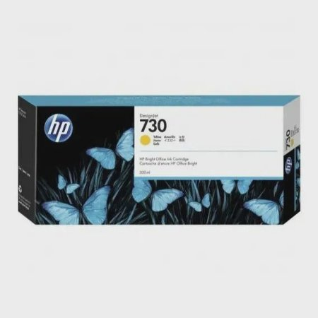 HP 730 Amarelo PLUK 300 ml