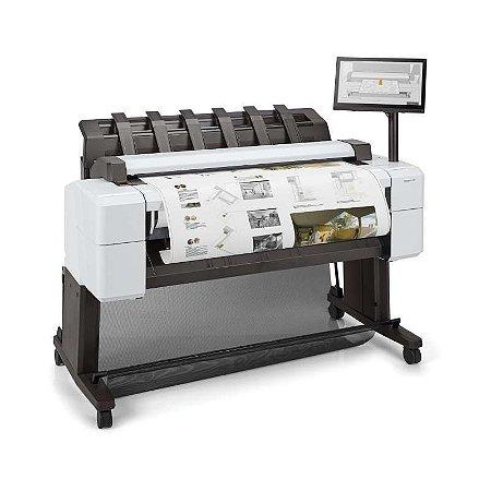 """Impressora Plotter HP DesignJet T2600PS 36"""" com scanner"""