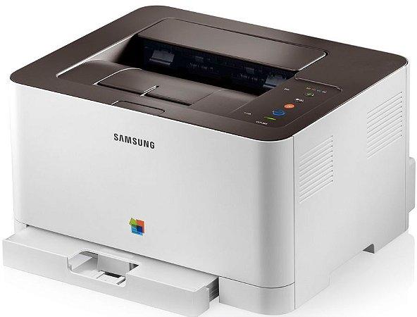 Samsung (Colorida usada com Kit tonner Clp365)