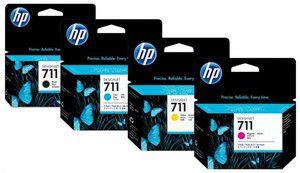KIT Cartucho HP 711 plloter HP 120_520 HP 130_530