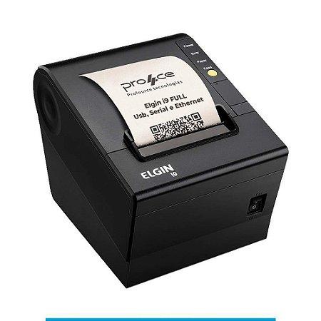 Impressora Térmica ELGIN I9 Full USB/Serial