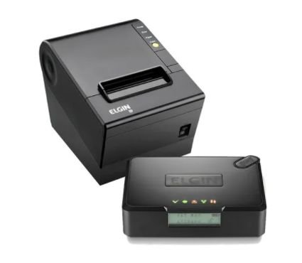 KIT Sat Fiscal Elgin Impressora Termica I9