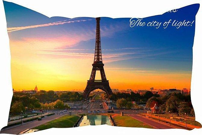 Almofada Cidades Famosas Paris Londres Nova York Rio de Janeiro