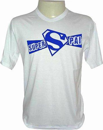 Camiseta Dia dos Pais - Super Pai