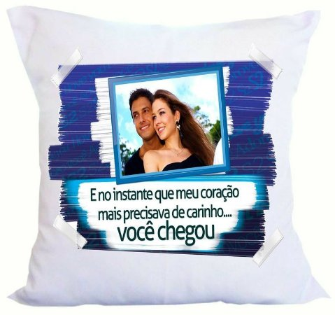 Almofada Dia dos Namorados - Personalizada com sua Foto