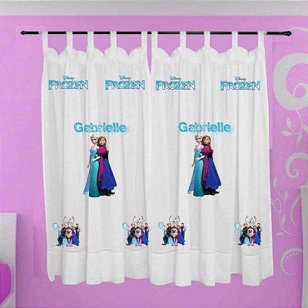 Cortina Infantil Personalizada - Frozen