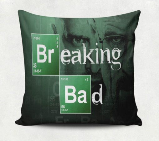 Almofada Breaking Bad