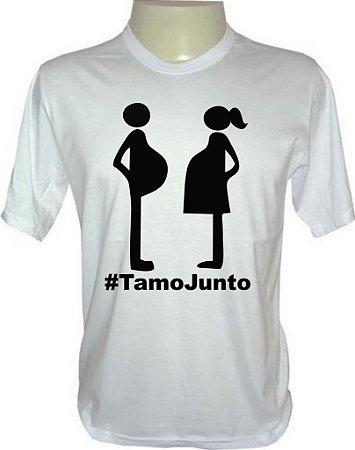 Camiseta Tamo Junto Gestante #tamojunto
