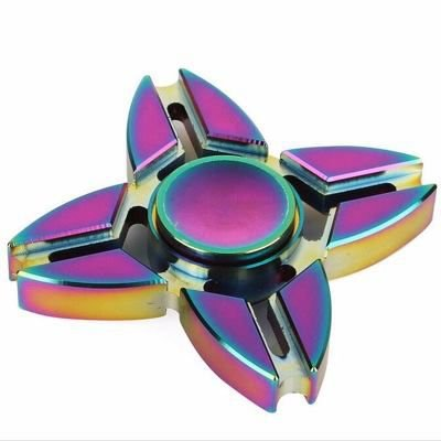 Fidget Hand Spinner Toy Anti Stress Metal - Modelo Shuriken