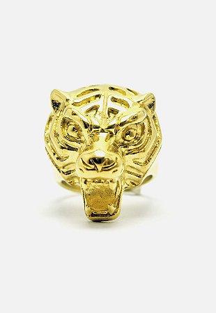 Anel Kodo Acessórios Tigre Dourado