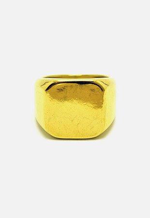 Anel Kodo Acessórios Liso Dourado
