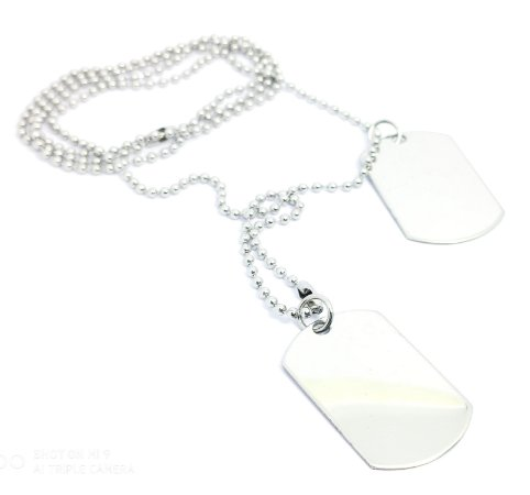 CORDÃO DOG TAG ELITE C253