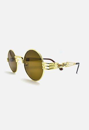 Óculos Kodo Acessórios Vintage Dourado