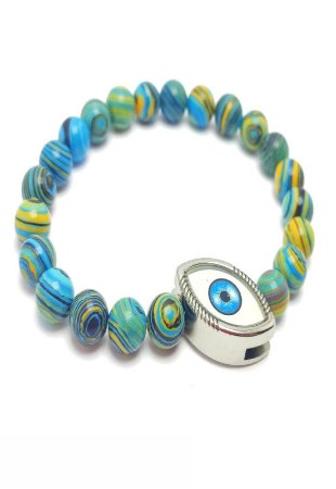 Pulseira Kodo Acessórios Olho Azul