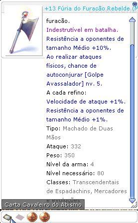 +13 Fúria do Furacão Rebelde Mira 4/3