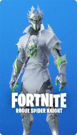 Rogue Spider Knight - Fortnite