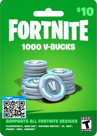 1000 V-bucks - Fortnite