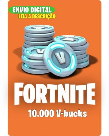 10.000 V-bucks - Fortnite
