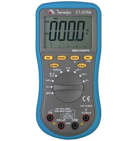 Multímetro Digital MINIPA ET-2076A