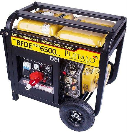 Motogerador à Diesel Buffalo BFDE 6500 Trifásico