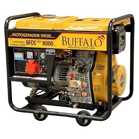 Motogerador à Diesel Buffalo BFDE 8000 Trifásico