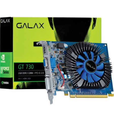 Placa de Video Galax GT 730 2GB 73GPF8HX3SNS