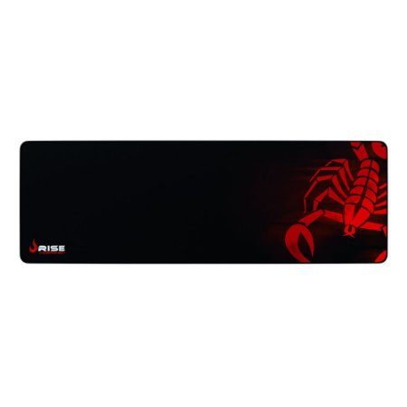 MOUSEPAD RISE GAMING SCORPION RED EXTENDED BORDA COSTURADA RG-MP-06-SR