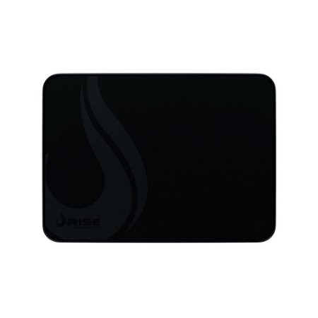 MOUSEPAD RISE GAMING BLACK MODE MÉDIO BORDA COSTURADA RG-MP-04-FBK