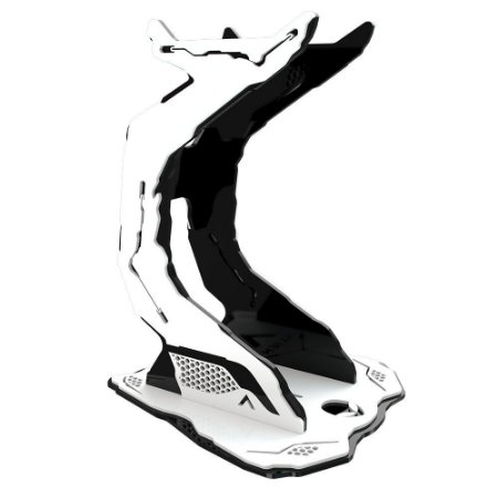 Suporte Headset Rise Gaming Alien Pro Black And White RM-AL-02-BW