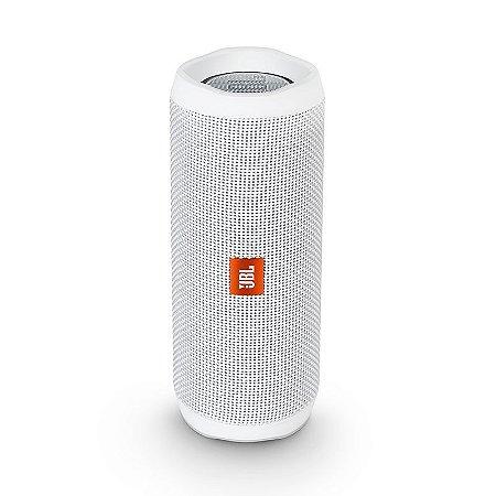 Caixa de Som Bluetooth JBL Flip 4 Branco