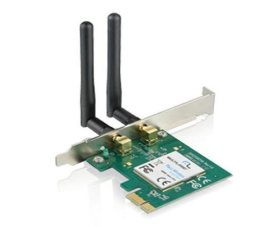 Placa de Rede Multilaser Wireless RE049 300Mbps PCI Express