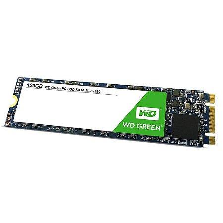 SSD M.2 2280 WD Green 120GB Leitura 545MB/s WDS120G2G0B