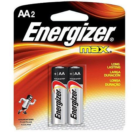 Pilha Energizer Max AA2