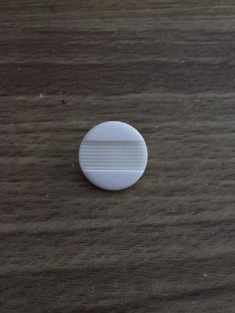 Botão Branco Pezinho - 1